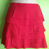 Bcbg Summer Skirt Coral Photo