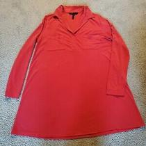 Bcbg Sweater Coral Dress Medium Photo