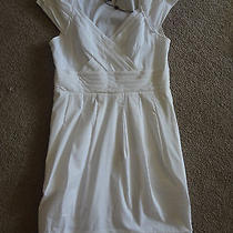 Bcbg White Dress - Size 6 Photo