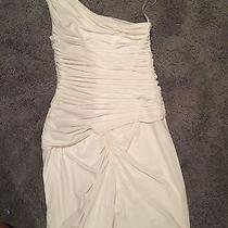 Bcbg White Dress Size Xs Photo