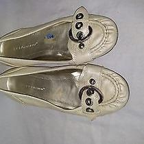 Bcbg White Flats Womens Shoes Sz Us 7 Photo