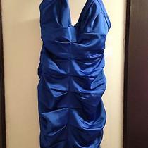 Bcbg Woman Blue Dress Photo