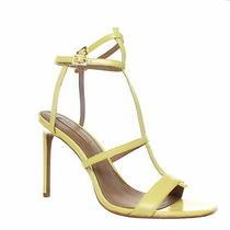 Bcbg Womens Iliana Dull Silver Ankle Strap Heels Size 10 (1111292) Photo