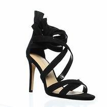 Bcbg Womens Janine Black Ankle Strap Heels Size 7 (776817) Photo
