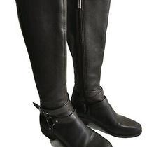 Bcbg Womens Oak Philly Kai Brown leather&vegan Knee Boots Sz 7m Euc Photo