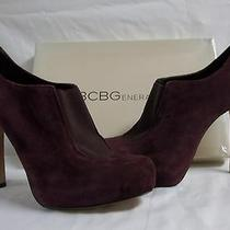 Bcbgeneration Bcbg Size 8.5 M Priyah Rosewood Leather Pumps New Womens Shoes Photo