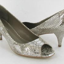 Bcbgeneration Heather Pump Metallic Womens Size 7.5 M New 69 Photo