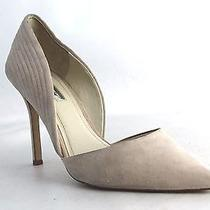 Bcbgeneration Women's Suede Treasure Pointed Heels in Blush Size 9.5m  S2140 Photo