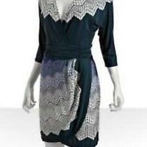Bcbgmaxazria Faux Wrap Dress Size Xs Bcbg Photo