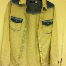 Bdg Urban Outfitters Bleached Demin Longsleeve Button Up American Apparel h&m Photo