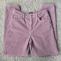 Bdg Urban Outfitters Rose Pink Mom High Rise Corduroy Pants Women's Size 27 Photo