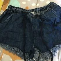 Bdg Urban Outfitters Size Xs Blue Denim Hotpant Shorts (S15) Photo