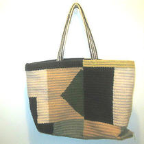 Bdg Woven Wool Textile Tote Bag Nwt Urban Outfitters Shopper Tote  Photo
