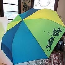 Beach or Table or Chair Umbrella  Avon Beach Bright Umbrella Mib Photo