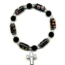 Bead Bracelet With Cross Sister Photo