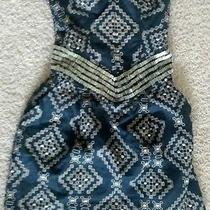 Beaded Parker Dress Size Medium Photo