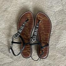 Beaded Steve Madden Thong Sandals Size 7 Photo