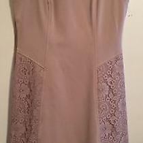 Beautiful Adrianna Papell Tan Dress Size 8 Photo