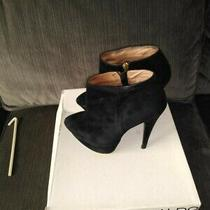 Beautiful Aldo Alhurshah High Heel Boots - Black Suede Women's Size 8 Photo