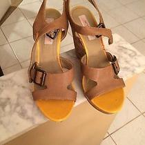 Beautiful American Rag Cie Wedge Taupe Size 9 Photo