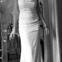 Beautiful Antique White Wedding Dress 2014 Nicole Miller  Photo