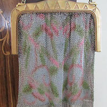 Beautiful Antique Whiting and Davis Mesh Purse Photo