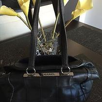Beautiful Authentic Black Chanel Bag Photo