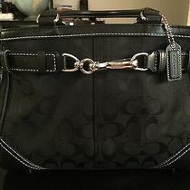 Beautiful  Authentic  Coach  Black  Tote / Purse / Handbag    Used Twice  Photo