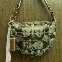 Beautiful Authentic Coach Hobo Holiday Collection  no.10007 Photo