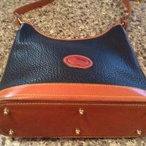Beautiful Authentic Dooney and Bourke Hobo Leather Handbag Photo