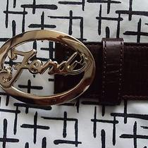 Beautiful Authentic Fendi Belt Photo
