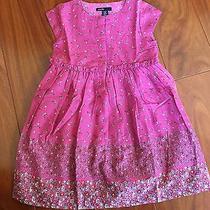 Beautiful Baby Gap Dress Magenta Pink Purple Flowers 3t Nwt Photo