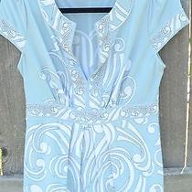 Beautiful Bcbg Women's Blue Shirt Photo