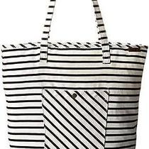 Beautiful Black and White Stripes  Roxy Rocker Shoulder Bag New Free Shipping Photo
