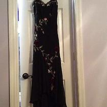 Beautiful Black Dress Size 6 in Excellent Condition Photo