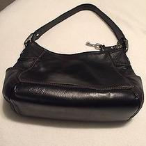 Beautiful Black Fossil Purse Photo