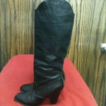 Beautiful Black Leather Dolce Vita Boots Size 8m Euc Photo