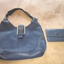 Beautiful Blue Coach Shoulder Bag Photo
