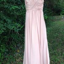 Beautiful Blush Bridesmaid Dress Size 2  Photo