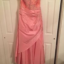Beautiful Blush Formal Dress Size 18 Sleeveless  Photo