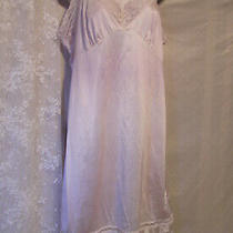 Beautiful Blush Full-Slip by Sliperfection W/glam Lace Near Vintage Sz. 38 Photo