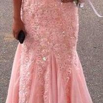 Beautiful Blush Prom Dress Photo