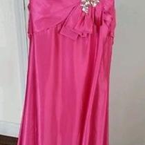 Beautiful Blush Prom  Fushia Dress Size 6  Photo