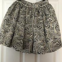 Beautiful Bnwt Gold Pattern Bebe Pleated Skirt Womens Size 2 Photo