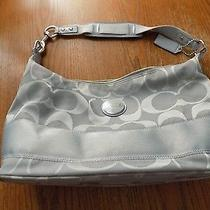 Beautiful Brand New Never Used Authentic Coach Grey Purse  Photo