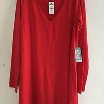 Beautiful Brand New  Women's Red Baby Doll  Dress by Express Photo