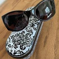 Beautiful Brighton Handmade Sunglasses Lyric A11547 W/case Excellent Condition Photo
