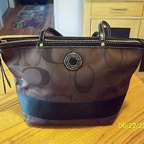 Beautiful Brown Coach Handbag Photo
