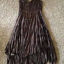 Beautiful Brown Dress by Express. Size 12. Photo