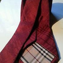 Beautiful Burberry Neck Tie Photo